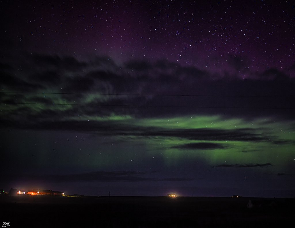 Aurora Borealis 5th April 2014